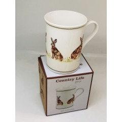 Country Life Hares Mug