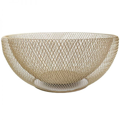 Le Forge Mesh Bowl Gold