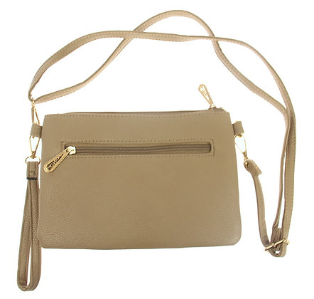 Amberlene - Cross Body Handbag - mushroom