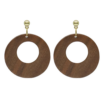 Olive Tiger Sarai Earrings