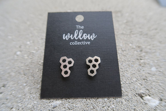 The willow collective - geometric earrings