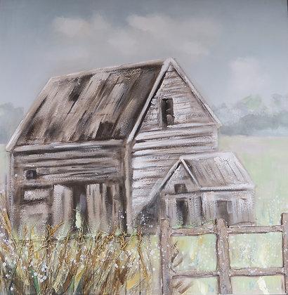 Canvas Print - Barn