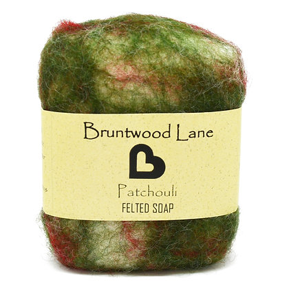 Bruntwood  Lane Patchouli Felted Wool Soap