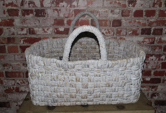 Maytime - White Wash Basket