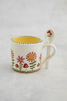 Hazel Mug & Spoon