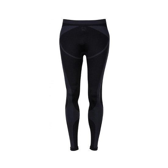 BRBL - Black Tooth Thermal Pants - Black/Blue