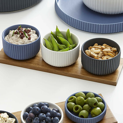 Ladelle Tall Bowl and Tray Set