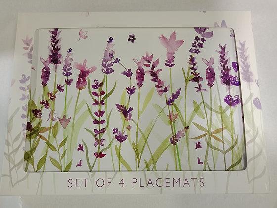 Lavender Placemats Set/4