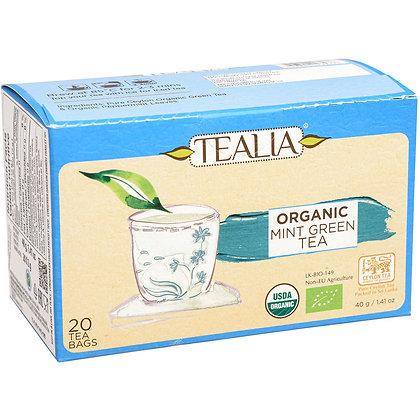 Tealia - Organic Mint Green Tea