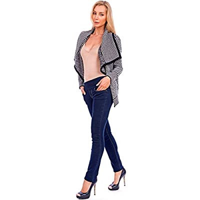 Lola Jeans - Catherine Midrise Stretch Straight Jean - Blue