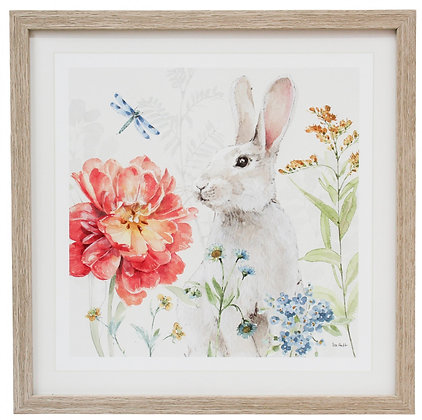 Framed Print Spring Bunny