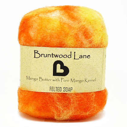 Bruntwood Lane  Mango Butter Felted Wool Soap