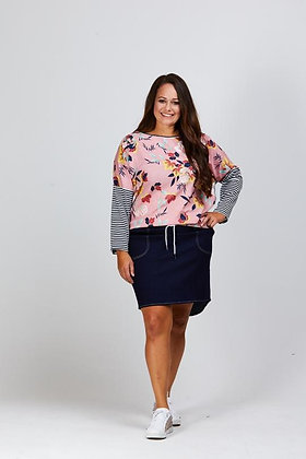 Stella Royal Blake Denim Skirt Dark