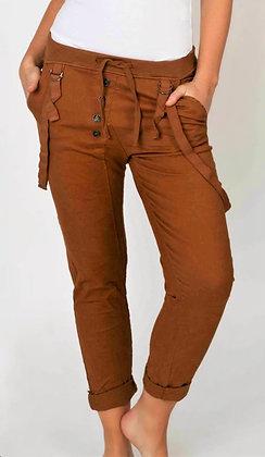 Suzy D Button Front Pant Assorted