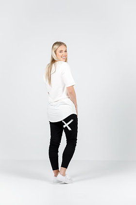 Homelee Apartment Pants Black White X