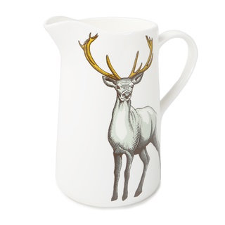 Jersey Pottery - Faunus Stag Jug