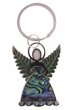 Ocean Shell - Silver Fern Keyring Fairy
