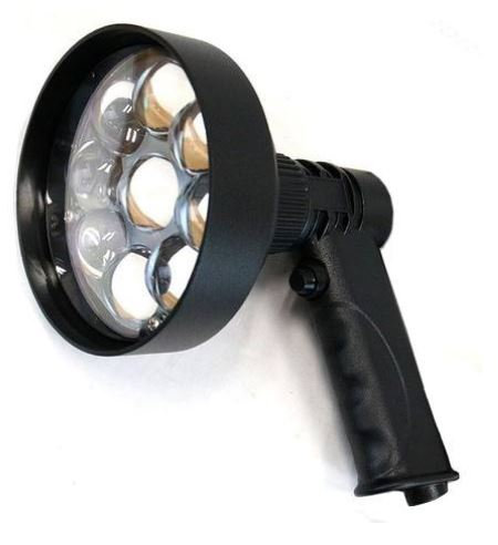 Night Saber- Rechargeable 120mm Spotlight