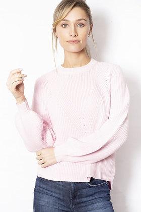 Sabena - Knit Jumper - Pale Pink