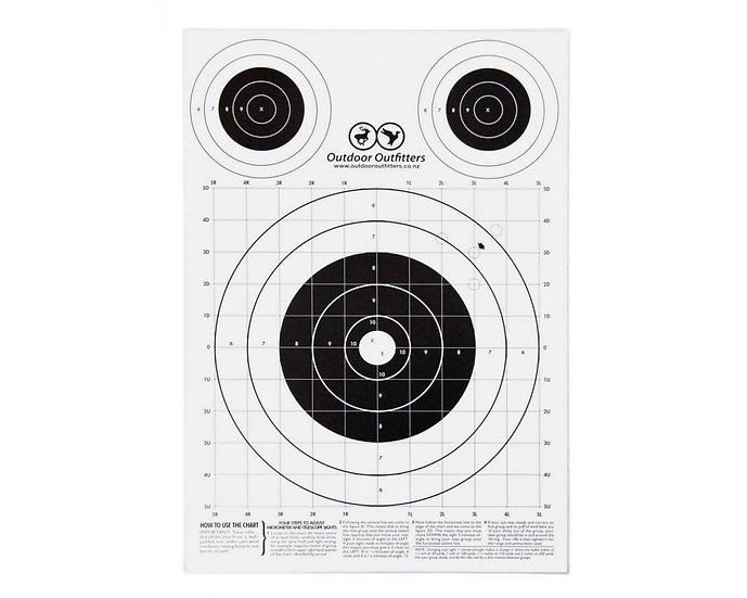 Outdoor Outfitters - A3 Paper Targets