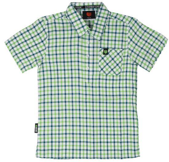 Stoney Creek Checkkid Shirt Green