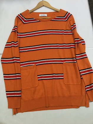 Ld+co Stripe Jumper - Mustard or Orange