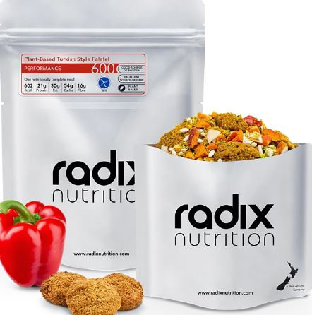 Radix Plant-Based Turkish Style Falafel Performance