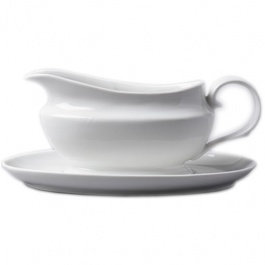 Rockingham - Gravy Boat and Saucer
