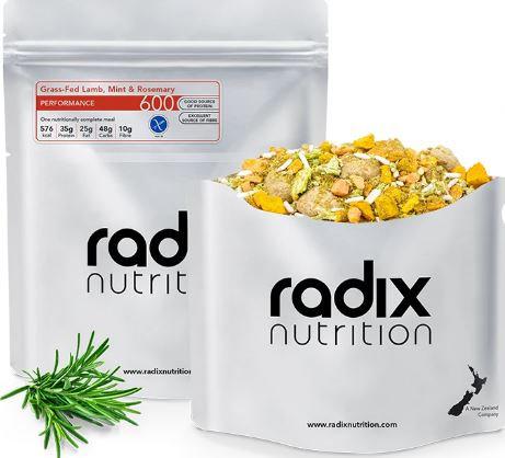 Radix 600 Grass Fed Lamb, Mint & Rosemary Performance Range