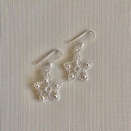 Lilio Earrings Star