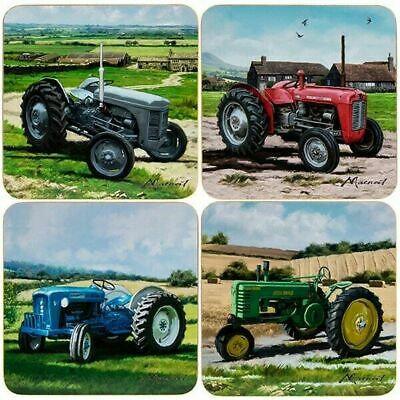 The Leonardo Collection Coasters Classic Tractors