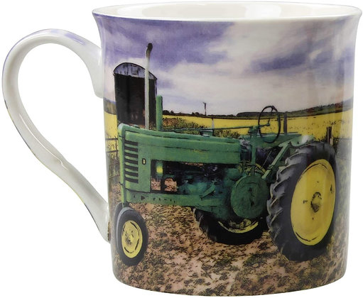 Leonardo Collection - Green Tractor Mug