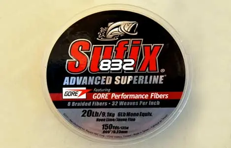 Sufix 832 - Advanced Fishing Line - various size and price