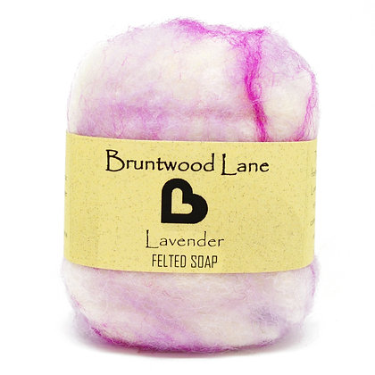 Bruntwood  Lane Lavender Felted Wool Soap