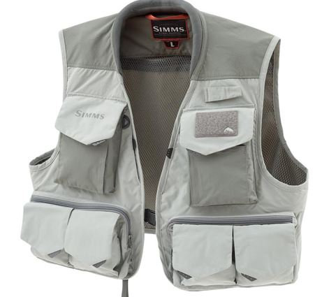 Simms Freestone Vest Smoke