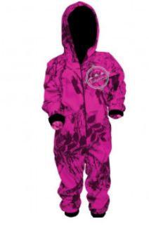 Ridgeline Onesie Hyper Pink Camo