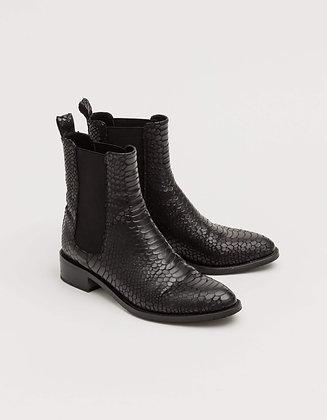 Stella+Gemma Hendrix Croc Boot Black