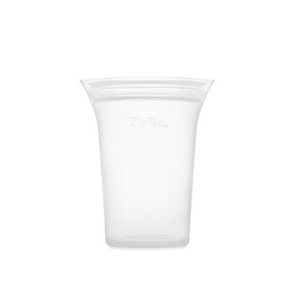 Zip Top Cup Medium 473ml Frost