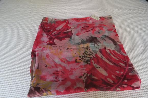 Ivys - Garden Scarf - Red/Pink Lightweight