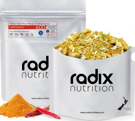 Radix 600 Indian Style Free-Range Chicken Curry Performance