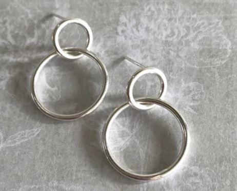 Lilio Earrings Silver