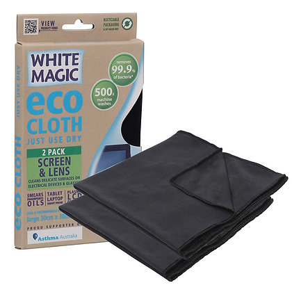 White Magic - Eco Cloth - Screen & Lens
