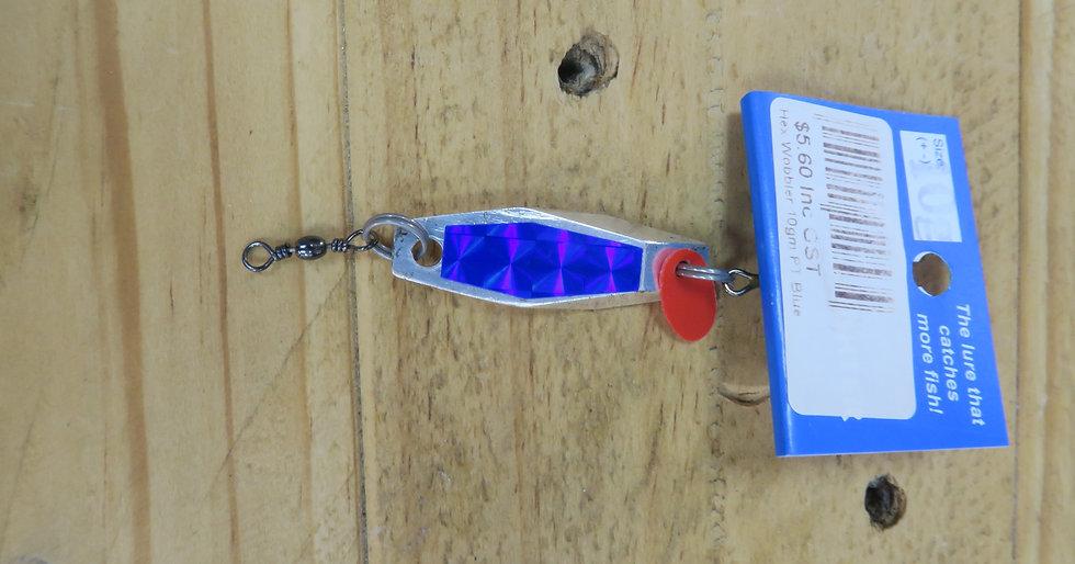 Fish Fighter - Hex Wobbler - Prism Blue