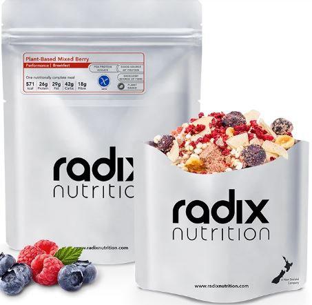 Radix  Mixed Berry Breakfast Performance