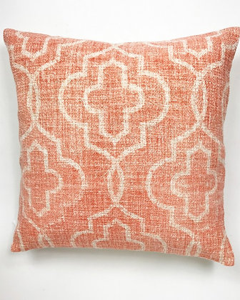 Mosaic Cushion Dusky Pink