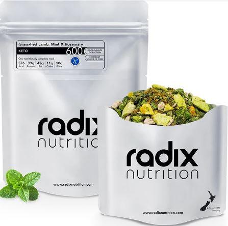 Radix Keto Grass-Fed Lamb, Mint & Rosemary 600