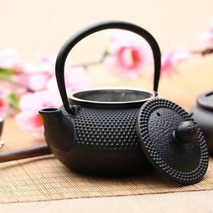 Avanti Hobnail Castiron Teapot Black 600ml