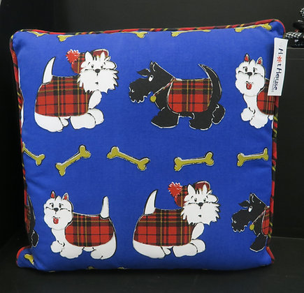 Hot House - Scotty Dog Cushion