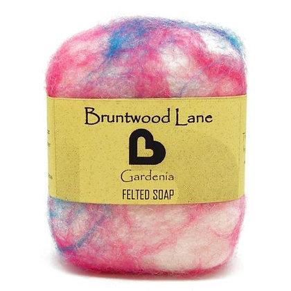 Bruntwood Lane  Gardenia Felted Soap