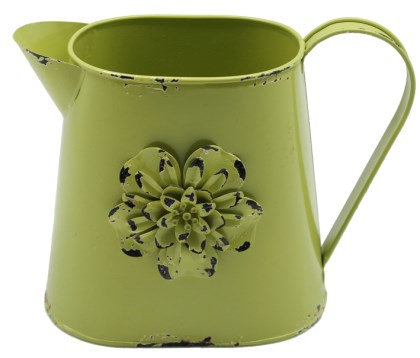 Teddy Time - Moss Metal Jug